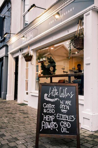 Little Collins CBD Dispensary in Kilkenny. Photo: Dave McClelland