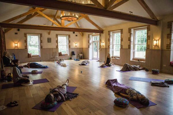 Learn to slow down at a Yoga & Sleep Retreat at Lisnavagh.