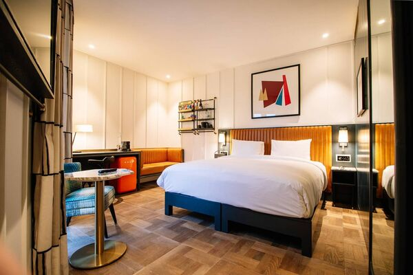 The Dean, on Cork's Horgan's Quay, offers a modern hotel experience and rooftop dining in the heart of the real capital.