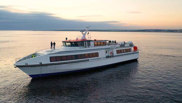 Set sail for the Aran Islands, aboard the brand-new Saoirse na Farraige.
