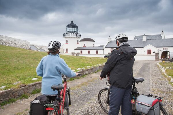 Stay in a lighthouse, like Clare Island Lighthouse, Mayo