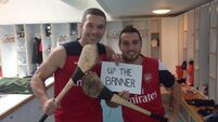 Arsenal duo tweet support for Clare hurlers