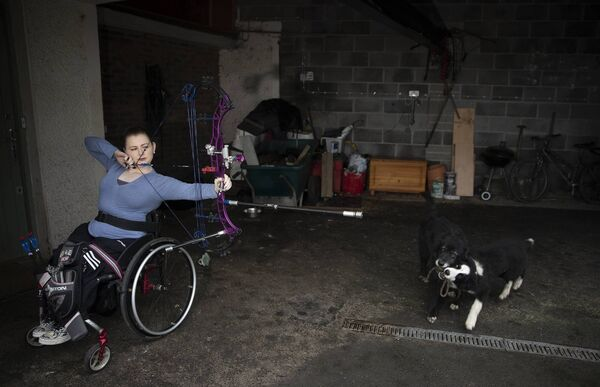 The 30-year-old Paralympic athlete will travel to the qualifying round in the Czech Republic in July. Picture: Brian Lawless/PA