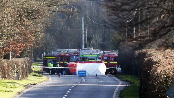 The Fatal Crash which took Place at Deepark, Charleville, Co Cork. Picture: Brendan Gleeson