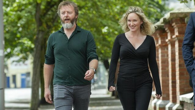 <p> Former solicitors Keith Flynn and Lyndsey Clarke, who were jailed for four years and two years respectively. 	Picture: Cork Courts Limited</p>