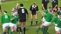 Sean Fitzpatrick recalls the day Gary Halpin gave the All Blacks the finger
