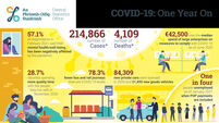 New data captures rollercoaster year of Covid-19