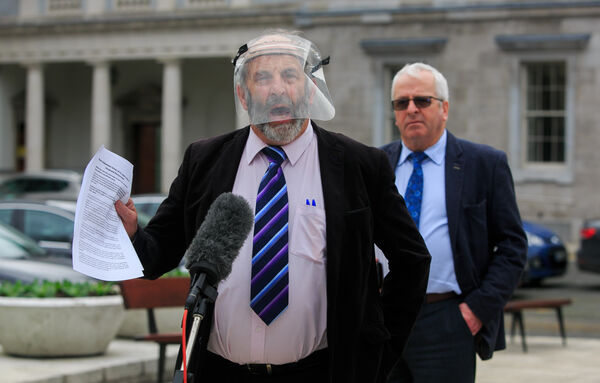 Danny Healy-Rae lists four properties, including 91 acres of farmland in Kilgarvan. He also lists shares in Kerry Group. Picture: Gareth Chaney/Collins