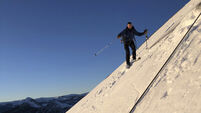 Skiers defy death in descent of Yosemite's Half Dome