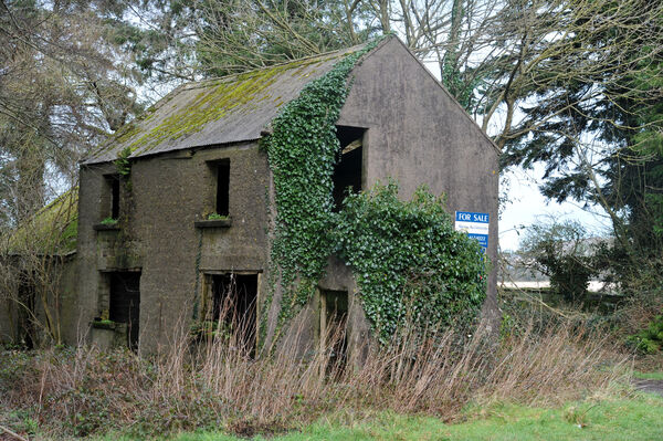 Derelict buildings can be re-built and transformed for modern use in rural areas.