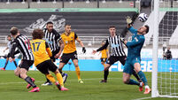 Newcastle United v Wolverhampton Wanderers - Premier League - St. James' Park
