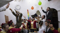 Virus Outbreak Israel Purim