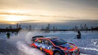 Motorsport: Craig Breen/Paul Nagle finish fabulous fourth in Artic Rally Finland