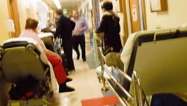 Over 13,000 elderly patients on trolleys for over 24 hours