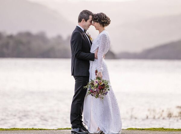 Una Brosnan and Jason Kiernan got married in December 2020