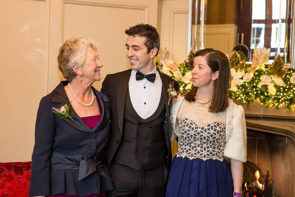 Jason Kiernan with his mother Carmel Kiernan and his sister Sharon Aylward