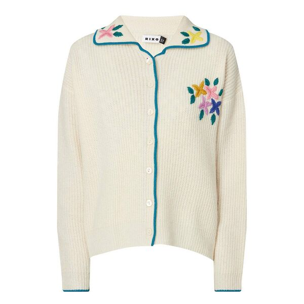 Cardigan, €260, Rixo at Brown Thomas