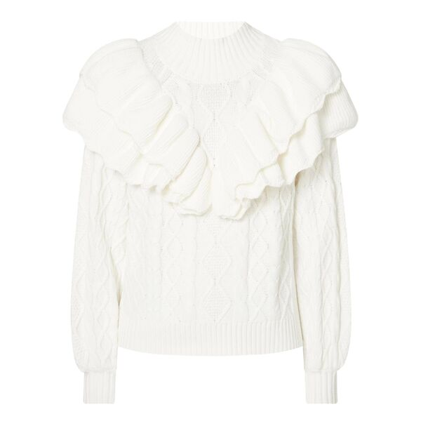 Victoria Ruffle Sweater,€89.99, Selected Femme at Arnotts