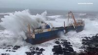 'Ghost ship' drifted for 43 days in Irish waters before hitting Cork shore