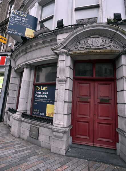 AIB once operated two outlets on Patrick's St but is now set to depart the street completely. Picture: Eddie O'Hare