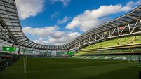 A general view of the Aviva Stadium 26/3/2019