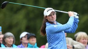 Leona Maguire two shots off the pace at LPGA Drive On Championship