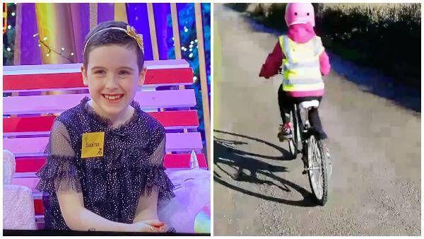 Η Sawiris Rowan έμαθε πώς να οδηγεί ξανά το ποδήλατό της