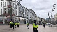 Anti-lockdown protest underway in Cork city; Man arrested unconnected to rally