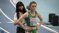 Phil Healy prepares for the Women's 400m Final 6/3/2021