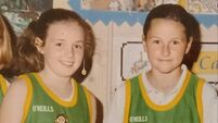 Enniskeane primary school releases photo of sporting stars Phil Healy and Orla Cronin after double success