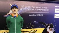 Speedskater Liam O'Brien breaks world top 30