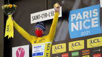 Sam Bennett's time in yellow jersey ends with fifth-place finish at Paris-Nice