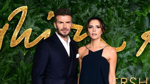 Beckhams among stars celebrating International Women's Day