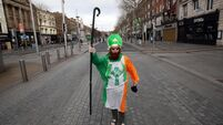 FILE PHOTO The organisers of the St Patrick's Festival have confirmed that the street parade in Dublin is cancelled for the seco