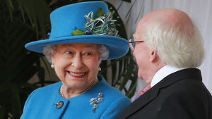 President Higgins tells Queen Elizabeth 2011 visit was 'moment of healing'