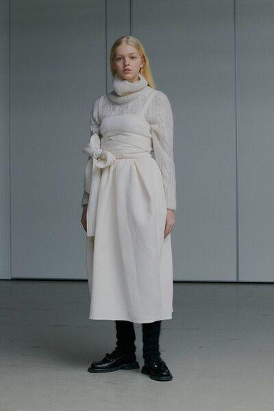 Quietly luxurious fashion speaks volumes at Celine Bahnsen.