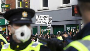 Gardaí in Dublin prepare for up to eight protests           today
