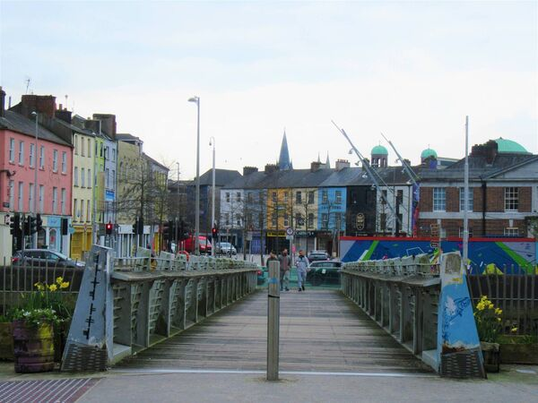 Shandon Bridge, facing the Coal Quay, Cork city. Picture: Ethel Crowley