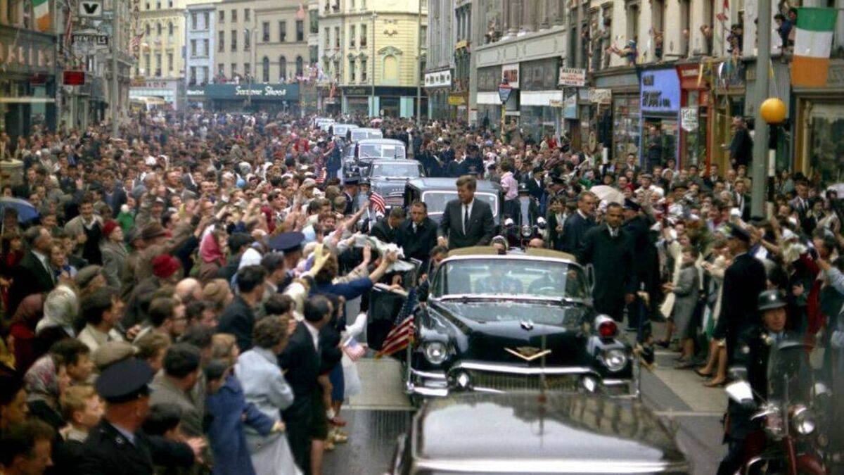 John F. Kennedy's Tour of Ireland 1963