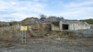 Investigating the abandoned quarry that, officially, is not abandoned