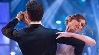 Ellis-Bextor battered and bruised after 'Strictly' training accident
