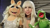 Gaga and The Muppets - together at last