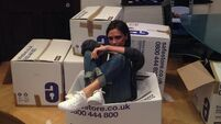 Posh's posh shoes to help victims of Philippines Typhoon