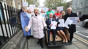 Petition to save Ireland's largest nursing home for dementia patients handed to Dáil