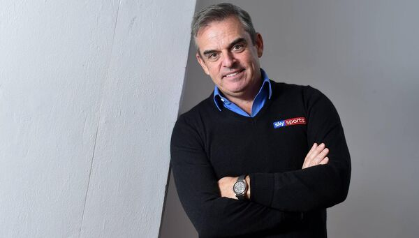 Former Ryder Cup captain, Paul McGinley was speaking ahead of Sky Sports' coverage of the Masters. Picture: David Fitzgerald