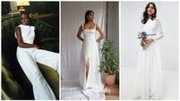 Simple, cheap, sustainable: the wedding dresses brides will be wearing in 2021