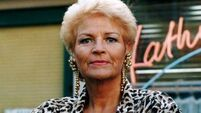 I am ready to emerge decked out like my spirit animal: Pat Butcher from Eastenders
