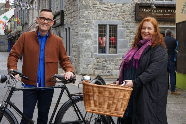 Keys To My Life: Presenter Brendan Courtney and Mary Coughlan