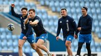 Leinster Rugby Captain's Run