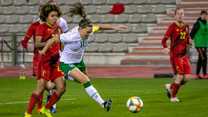 Ireland sunk by the golden boot of Belgium star Tine De Caigny